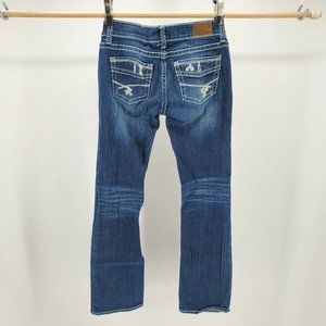BKE Jeans - BKE Stilla Jeans Straight Leg Zip Fly Stitched Poc
